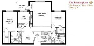 The Birmingham floor plan