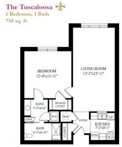 The Tuscaloosa floor plan