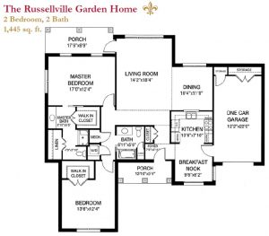 Russellville Garden Home floor plan