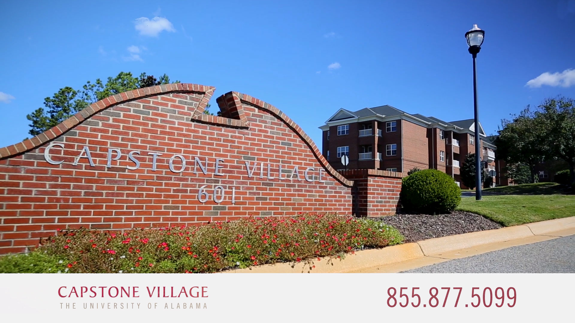 Capstone Village Sign